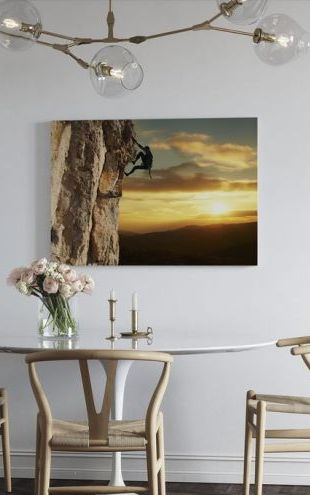 【Canvas Print】PHOTOWALL / Rock Climber (e21114)