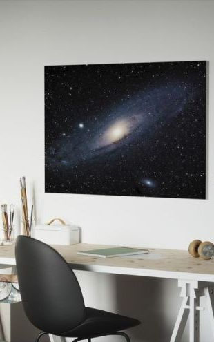 【Canvas Print】PHOTOWALL / Andromeda Galaxy (e21115)