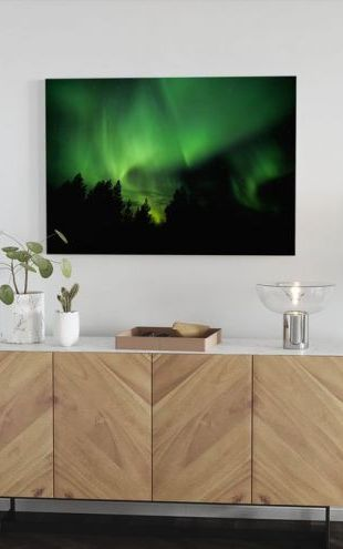 【Canvas Print】PHOTOWALL / Aurora (e22659)