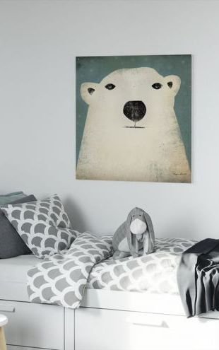 【Canvas Print】PHOTOWALL / Ryan Fowler - Polar Bear (e22287)