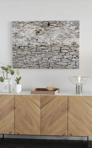 【Canvas Print】PHOTOWALL / Old Stone Wall (e22866)