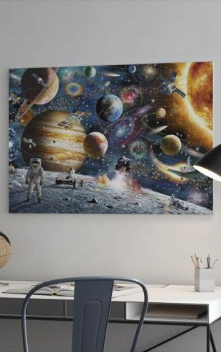 【Canvas Print】PHOTOWALL / Space Odyssey (e22924)