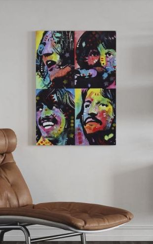 【Canvas Print】PHOTOWALL / The Fab Four (e23018)