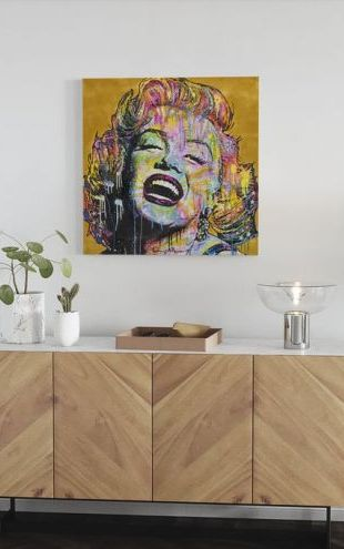 【Canvas Print】PHOTOWALL / Marilyn Multicolor (e23028)