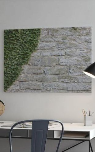 【Canvas Print】PHOTOWALL / Ruin with Ivy (e23094)