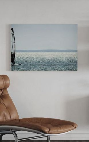 【Canvas Print】PHOTOWALL / Windsurfer Panorama (e23224)