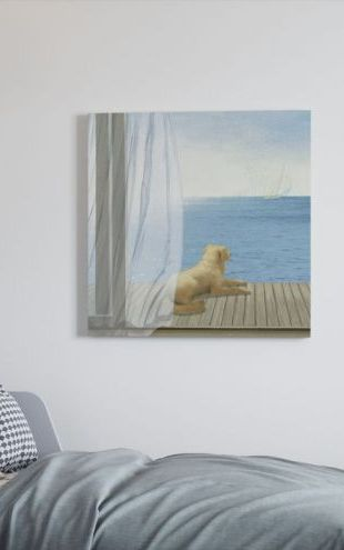【Canvas Print】PHOTOWALL / Blue Breeze 3 (e23330)