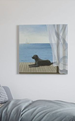 【Canvas Print】PHOTOWALL / Blue Breeze 2 (e23336)
