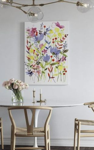 【Canvas Print】PHOTOWALL / Annes Flowers (e23337)