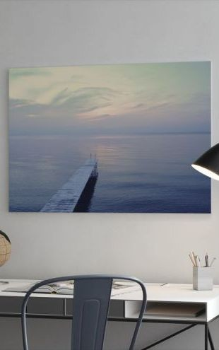 【Canvas Print】PHOTOWALL / The Long Dock (e23360)