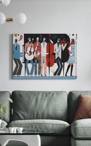 【Canvas Print】PHOTOWALL / The Band (e23479)