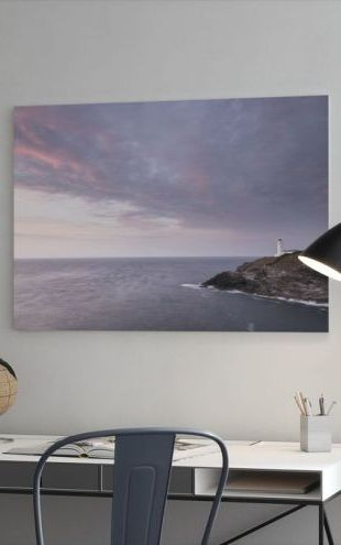 【Canvas Print】PHOTOWALL / Trevose Lighthouse at Sunset (e23660)