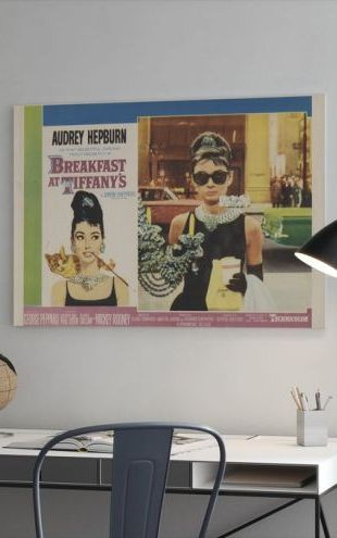 【Canvas Print】PHOTOWALL / Movie Poster Breakfast at Tiffany's (e24013)