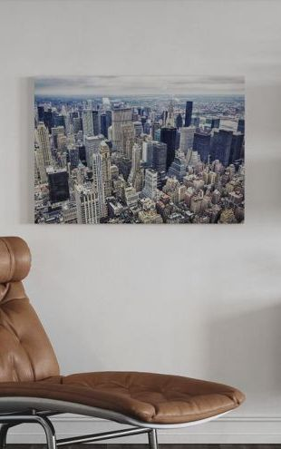 【Canvas Print】PHOTOWALL / Aerial View of Manhattan (e241208)