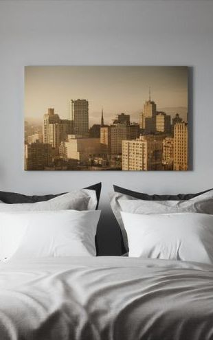 【Canvas Print】PHOTOWALL / Sparkling San Francisco (e24195)