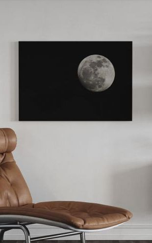 【Canvas Print】PHOTOWALL / Moon (e24408)
