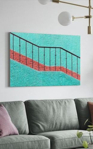 【Canvas Print】PHOTOWALL / Stairs (e24411)