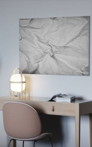 【Canvas Print】PHOTOWALL / Wrinkled Paper (e24441)