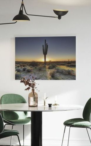 【Canvas Print】PHOTOWALL / Desert Sunset (e40333)