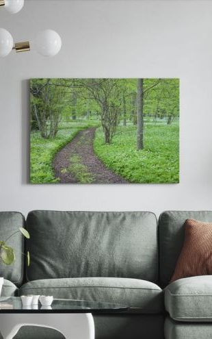 【Canvas Print】PHOTOWALL / Green Park (e25119)