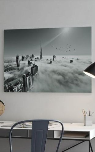 【Canvas Print】PHOTOWALL / Up up and Above (e29458)