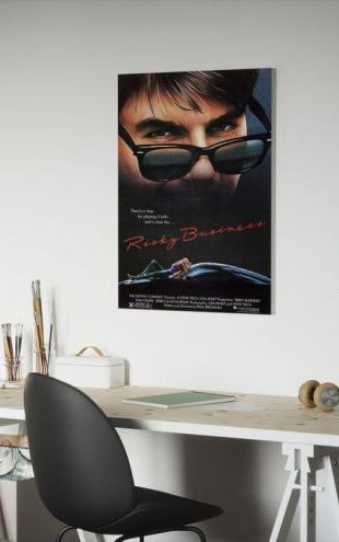 【Canvas Print】PHOTOWALL / Movie Poster Risky Business (e25225)