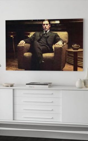 【Canvas Print】PHOTOWALL / The Godfather - Leaned Back Michael Corleone (e25292)