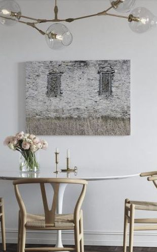 【Canvas Print】PHOTOWALL / Old Stone Barn (e25539)