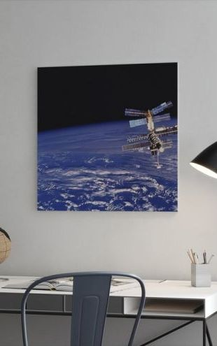 【Canvas Print】PHOTOWALL / Mir Space Station (e25589)