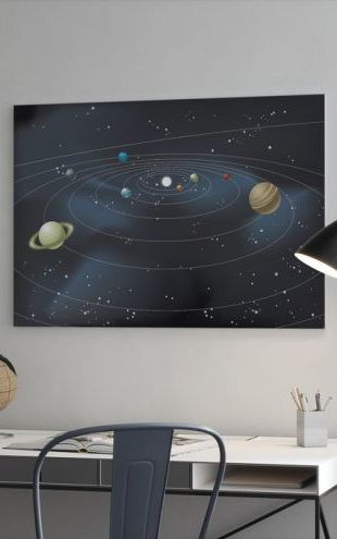 【Canvas Print】PHOTOWALL / Planetary System (e25593)