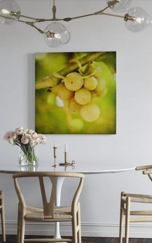 【Canvas Print】PHOTOWALL / Spring Grapes (e29795)