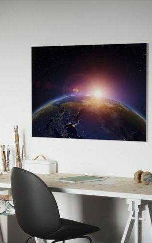 【Canvas Print】PHOTOWALL / First Hint of Sunrise (e25845)