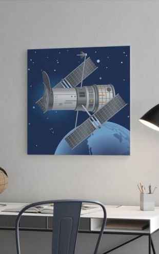【Canvas Print】PHOTOWALL / Hubble Telescope (e25856)
