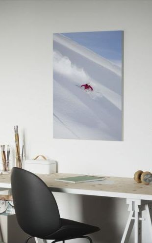 【Canvas Print】PHOTOWALL / Skiing in Chamonix, France (e29984)