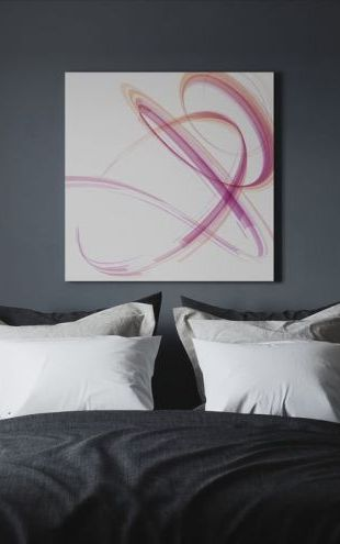 【Canvas Print】PHOTOWALL / Pink Spiral (e30322)