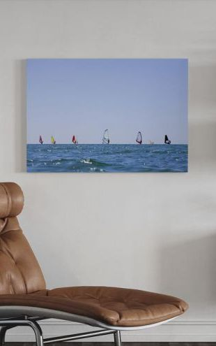【Canvas Print】PHOTOWALL / Windsurfing in Varberg, Sweden (e40563)