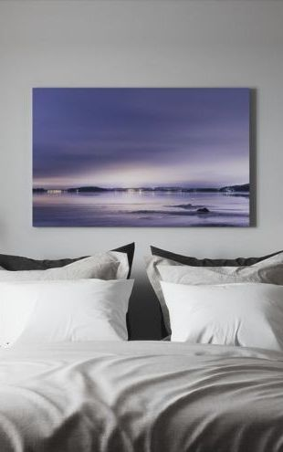 【Canvas Print】PHOTOWALL / Purple Evening (e40586)