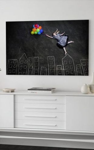 【Canvas Print】PHOTOWALL / Flying on the Rooftops (e40887)