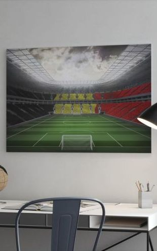 【Canvas Print】PHOTOWALL / Giant Soccer Stadium (e30705)