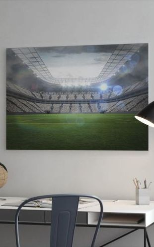 【Canvas Print】PHOTOWALL / Soccer Arena (e30706)
