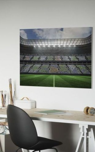 【Canvas Print】PHOTOWALL / Stadium Lighter (e30710)