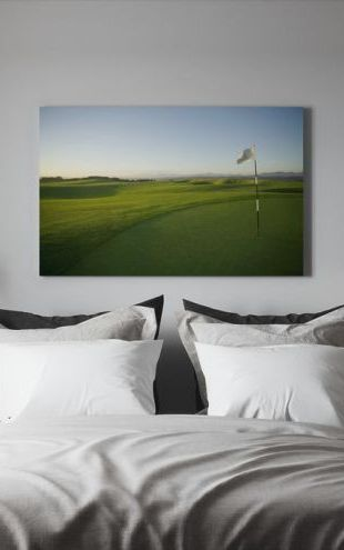 【Canvas Print】PHOTOWALL / South African Golf Course (e30801)
