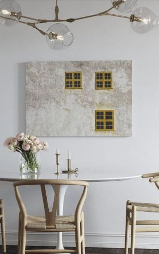【Canvas Print】PHOTOWALL / Old Wall with Windows (e41159)