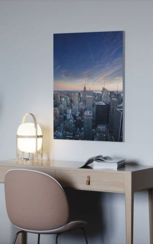 【Canvas Print】PHOTOWALL / The Darker Stage of Twilight, Manhattan (e50039)
