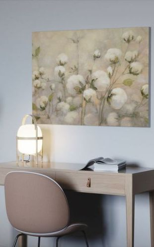 【Canvas Print】PHOTOWALL / Cotton Field (e50052)