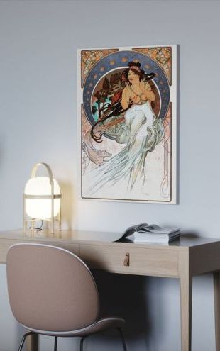 【Canvas Print】PHOTOWALL / Alphonse Mucha - Art Noveau (e31027)