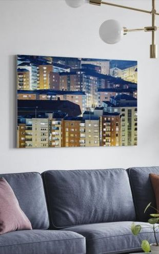 【Canvas Print】PHOTOWALL / Roofs of Finland (e50202)