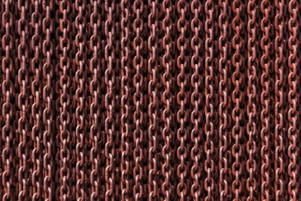 【Canvas Print】PHOTOWALL / Rusty Chains (e310251)