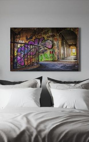 【Canvas Print】PHOTOWALL / Colorful Grafitti (e310572)