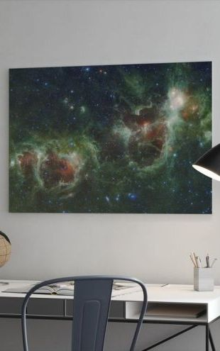 【Canvas Print】PHOTOWALL / Outer Space Cosmos (e310766)